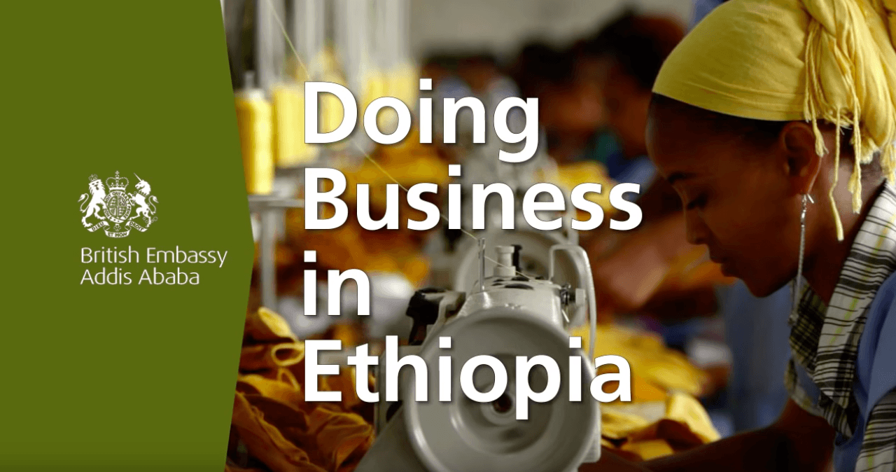 Trade and Investment | Embassy of Ethiopia, London
