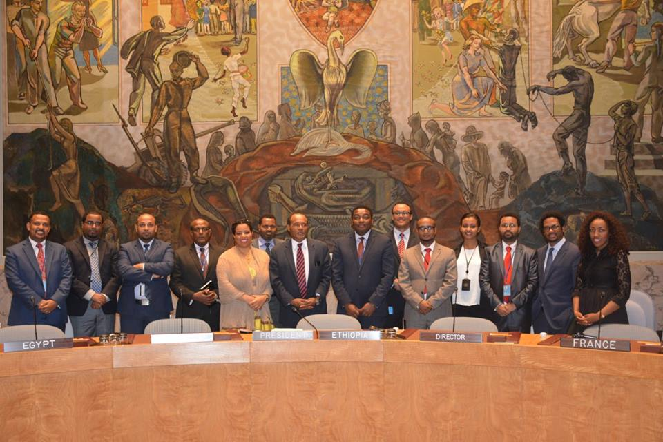 Ethiopia concludes presidency of UN Security Council | Embassy of