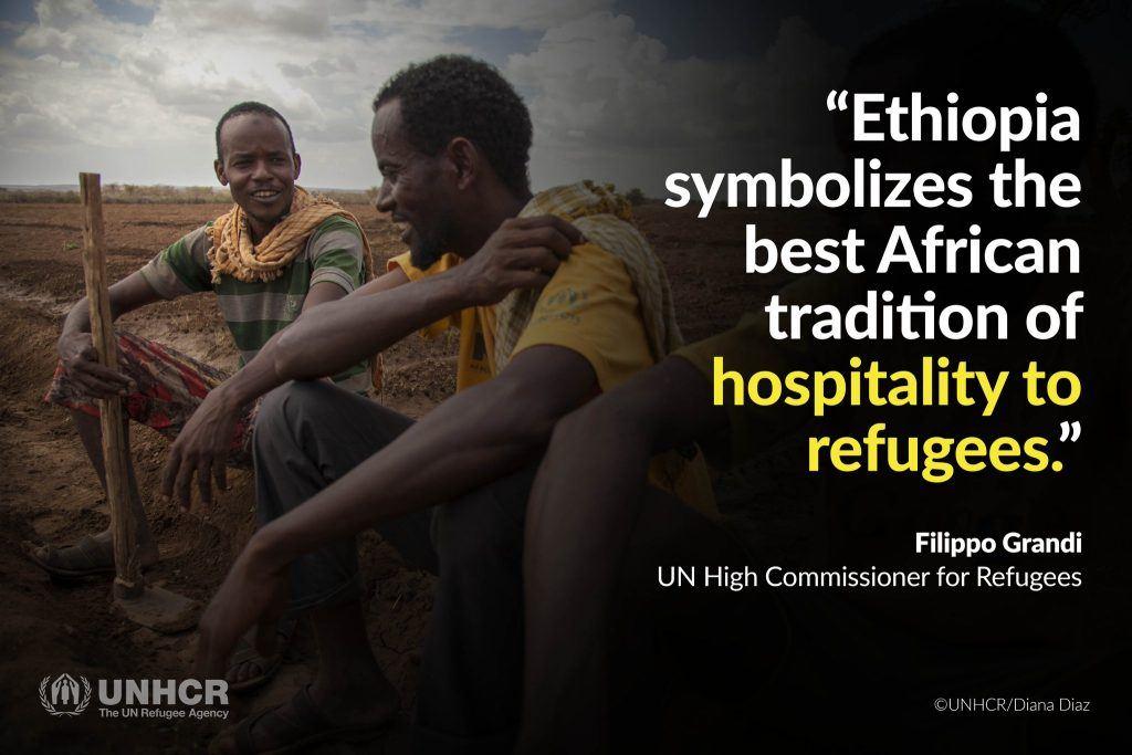 Ethiopia begins civil registration for refugees   Embassy of